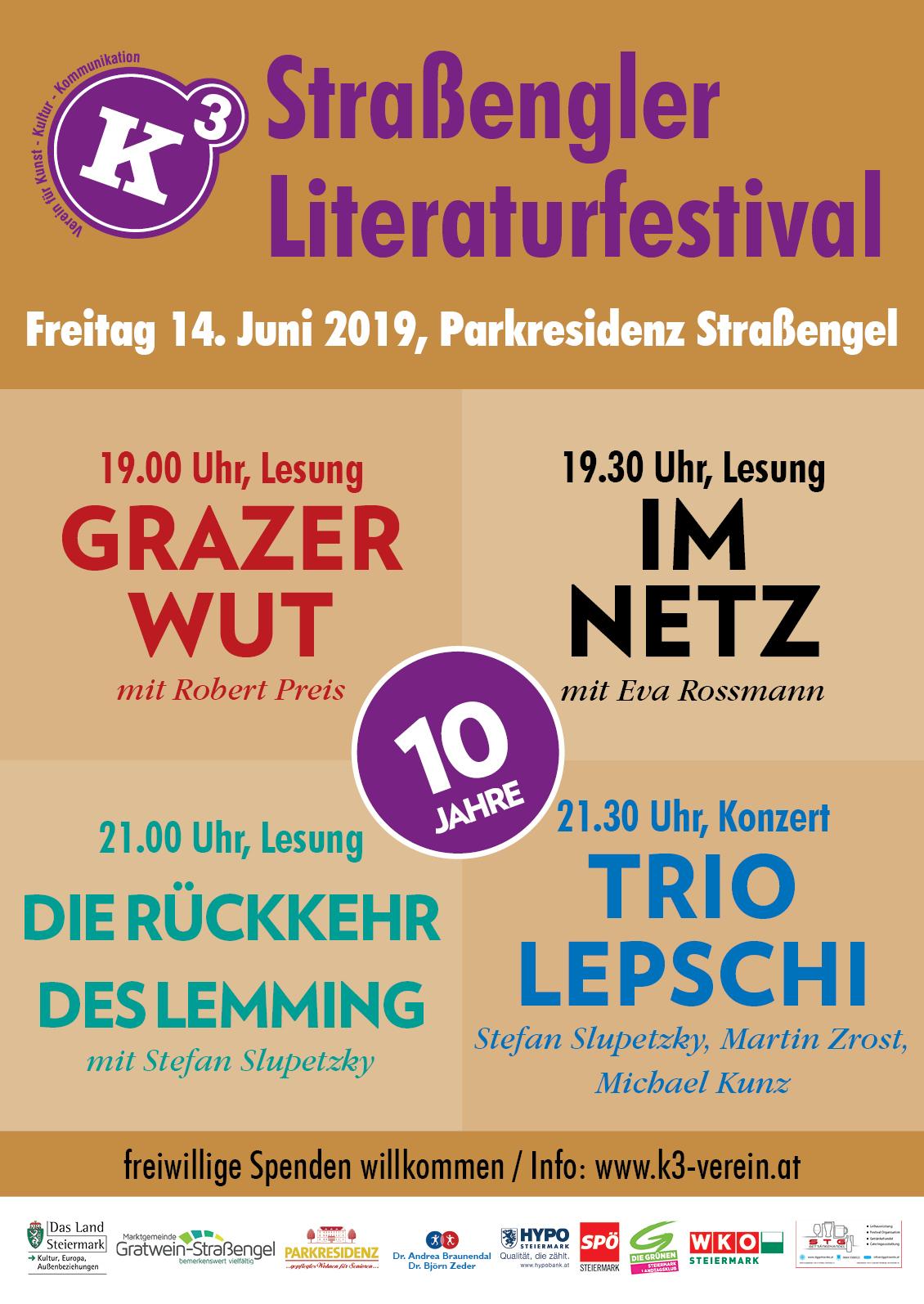 litfest2019 Poster